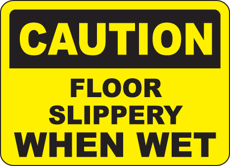 Reducing Slip and Fall Accidents on Clean Floors